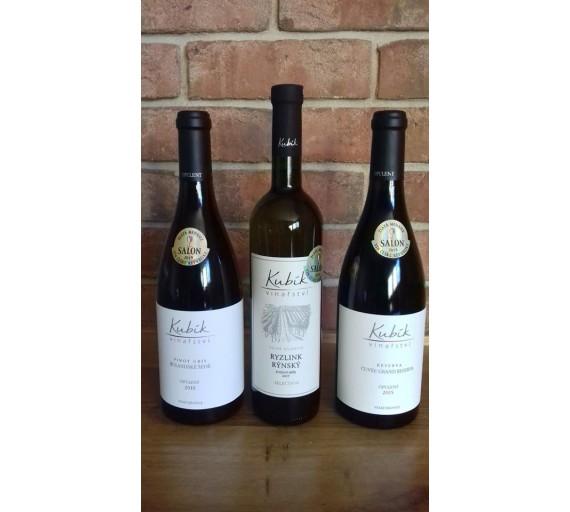 Víno Ampelos červené - Rulandské modré 2002 jakostní suché 0,7 l
