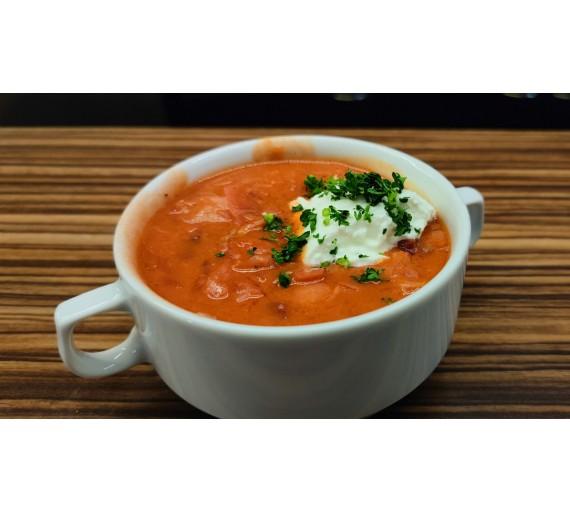 Denní polévka ZDARMA, cena za obal