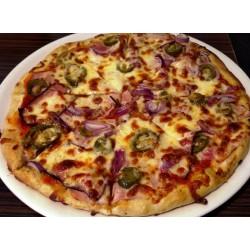 20. Pizza Salami Jalapeno ( pálivé )  NOVINKA