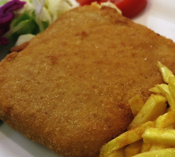 120g Smažený sýr Eidam se šunkou